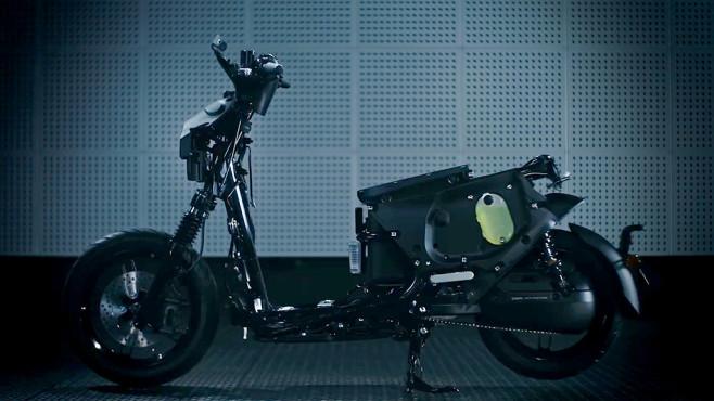 E-Roller Yamaha EC-05©Yamaha
