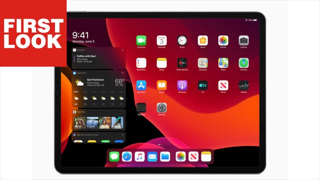 iPad mit neuem OS
