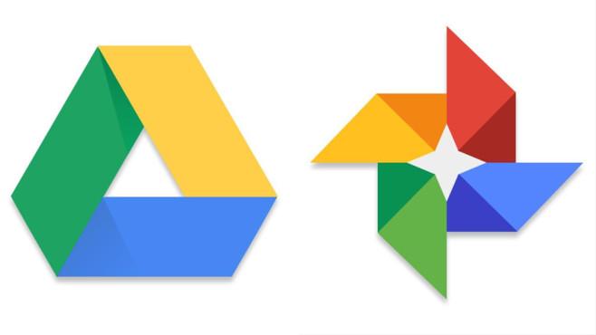 Google Drive und Google Fotos©Google