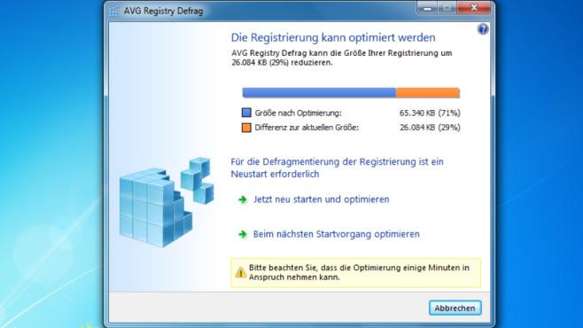 Registry defragmentieren bei SSD: Sinnvoll, schädlich? Die Registry©COMPUTER BILD