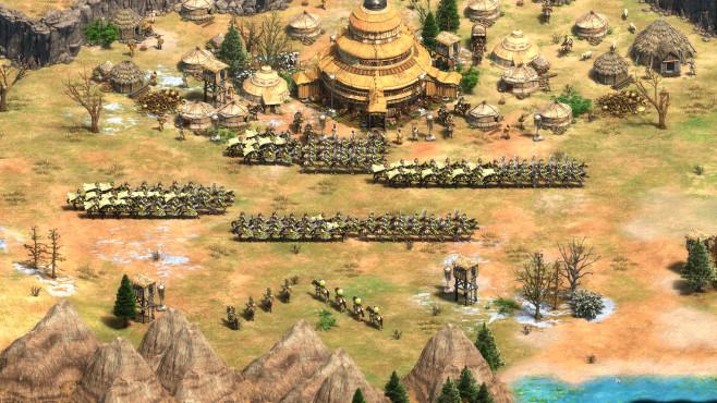 """Age of Empires 2: Definitive Edition in der Vorschau Der Klassiker """"Age of Empires 2"""" bekommt mit der Definitive Edition ein Facelift und neue Inhalte.©Microsoft"""
