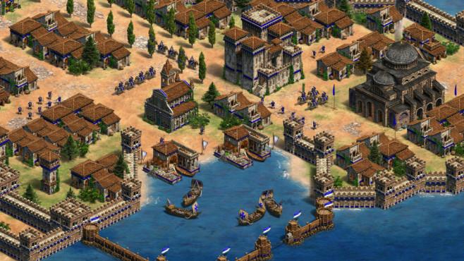 """Age of Empires 2: Definitive Edition in der Vorschau Die """"AoE2 – Definitve Edition"""" erscheint zum 20-jährigen Jubiläum.©Microsoft"""