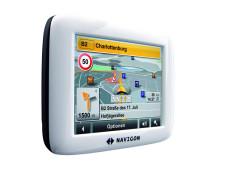 Navigon 2100: Neues Einsteiger-Navi mit integriertem MP3-Player und TMC Navigon 2100