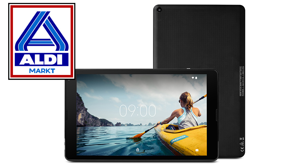 Medion LifeTab E10414: Aldi-Tablet mit Android 9