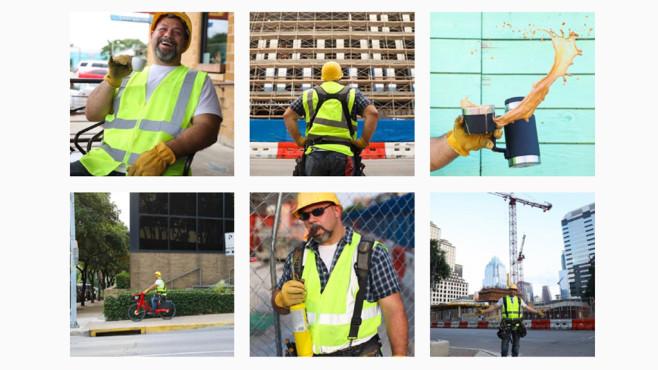 Bauarbeiter als Influencer: Instagram-Account geht viral Etwas konnte bei diesen perfekt getroffenen Bildern vom  doch nicht stimmen.©Screenshot @justaconstructionguy