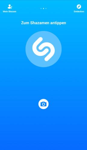 Shazam (Android-App)