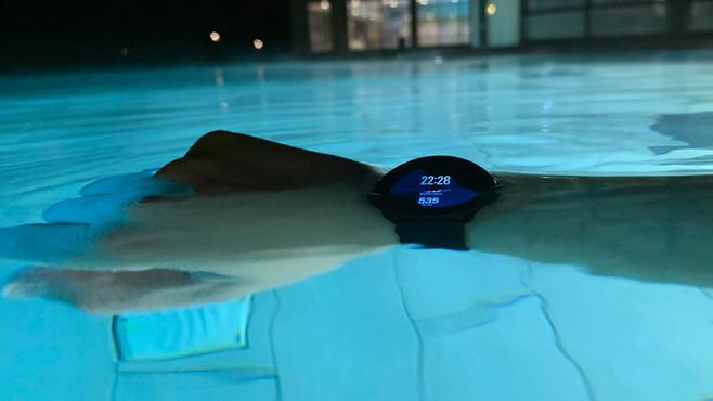 Samsung Galaxy Watch Active Schwimmen©COMPUTER BILD