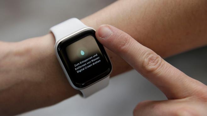 Wassersperrmodus der Apple Watch©COMPUTER BILD