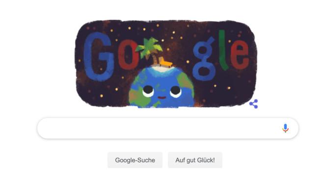 Google Doodle: Sommeranfang©Google