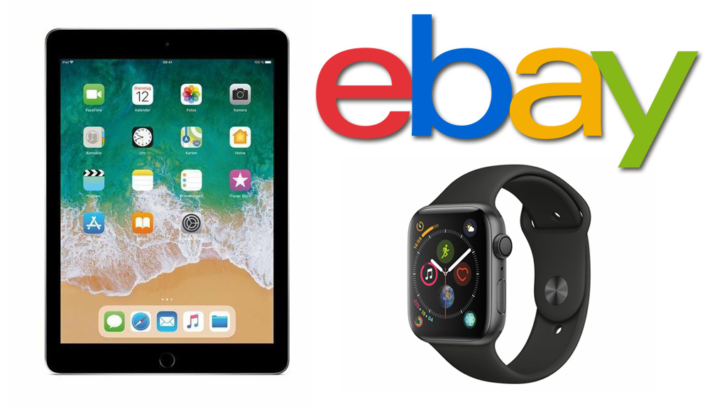 Ebay: Apple Watch und iPad als Jubiläumsschnäppchen!