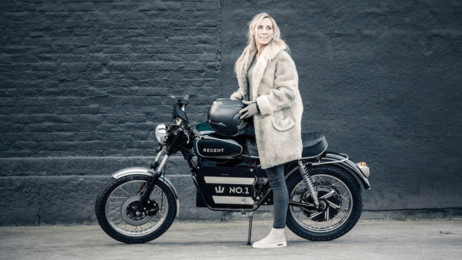 Elektromotorrad Regent No.1©Regent Motorcycles