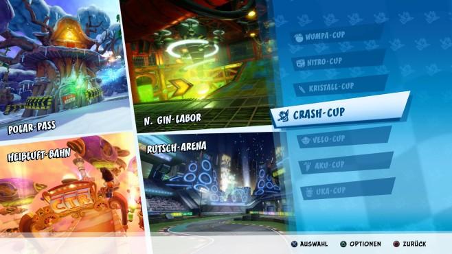 Crash Team Racing – Nitro Fueled: Der Beuteldachs gibt Kette!©Activision