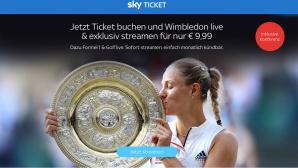 Sky-Angebot: Wimbledon streamen©Sky