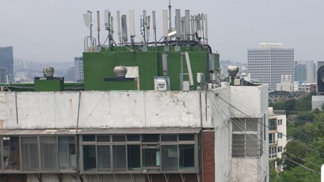Mobilfunkantennen in Korea©Barbara Gehl