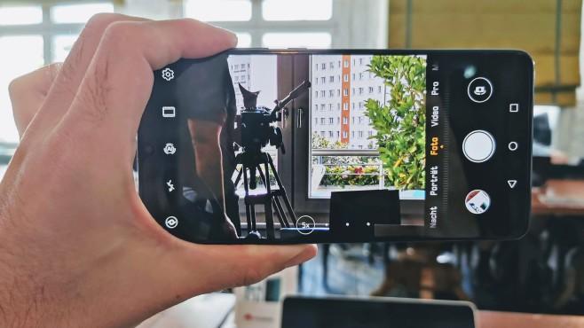 Huawei Mate 20 X 5G©COMPUTER BILD / Michael Huch