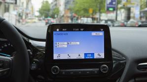 Parkleitsystem KoMoD V2X©Vodafone / Ford