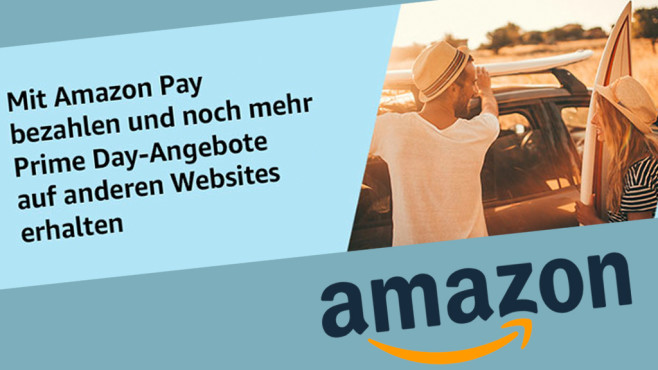Amazon-Pay-Gutschein: 30 Prozent Cashback als Amazon-Guthaben Amazon winkt derzeit mit Gutscheinguthaben dank Cashback-Aktion.©Amazon