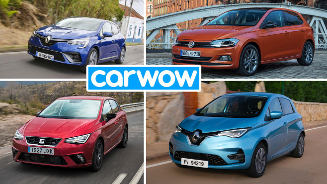 Klein- und Kleinstwagen©Carwow, Renault, VW, Seat