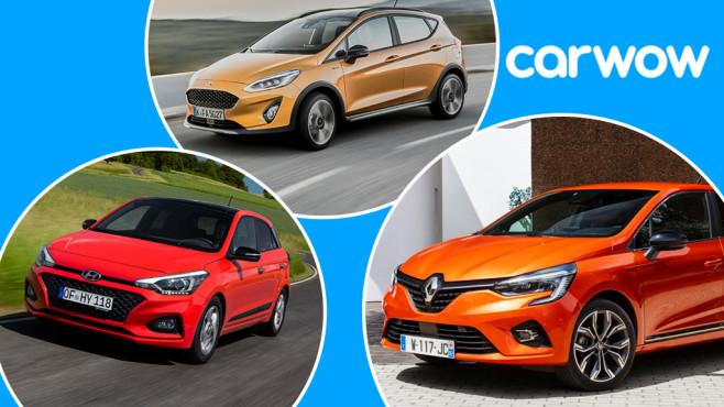 Klein- und Kleinstwagen©Carwow, Ford, Hyundai, Renault