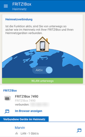 MyFritzApp (Android-App)