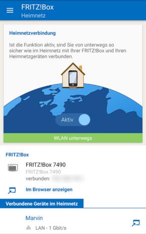 MyFritzApp (App für iPhone & iPad)