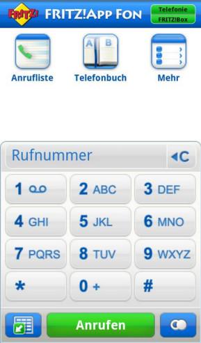 FritzApp Fon (Android-App)