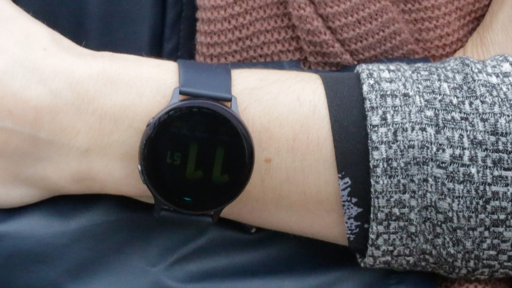 Samsung Galaxy Watch Active 2: Always-on-Display