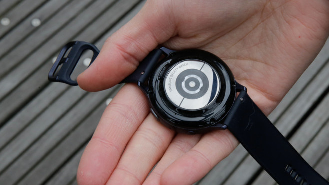 Samsung Galaxy Watch Active 2: Rückseite © COMPUTER BILD