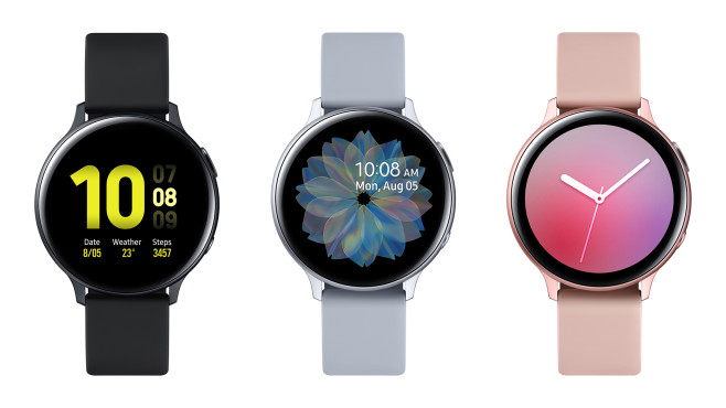 Samsung Galaxy Watch Active 2: Varianten © Samsung
