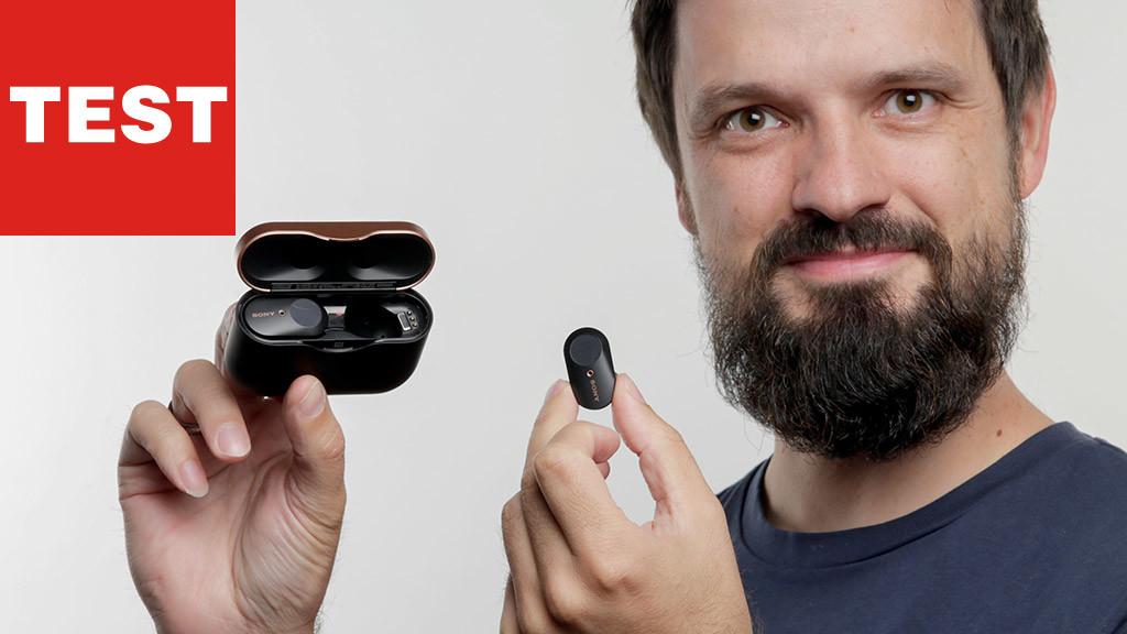 Sony WF-1000XM3 In-Ear-Kopfhörer©COMPUTER BILD