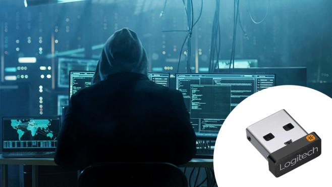 Gravierende Sicherheitslücken in kabellosen Geräten Logitechs Unifying-Adapter enthält Sicherheitslücken. Betroffene Geräte erkennen sie am orangenen Symbol.©iStock.com/gorodenkoff