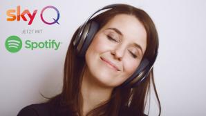 Sky Q Spotify kostenlos©iStock.com/LukaSvetic, Sky