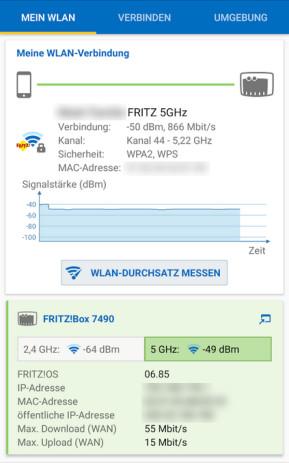 FritzApp WLAN (App für iPhone & iPad)