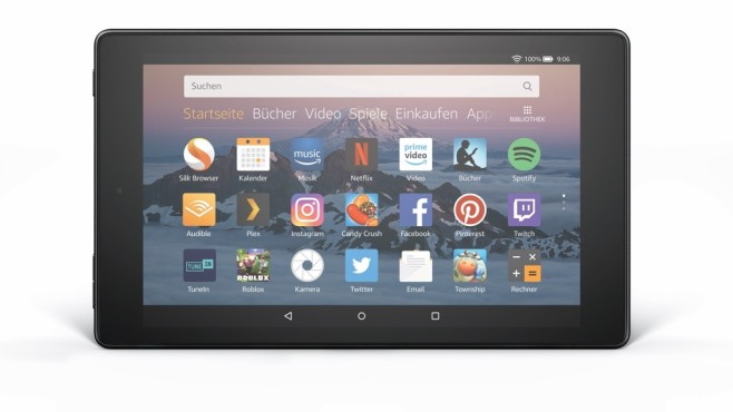 Tablet Amazon Fire HD 8 © Amazon