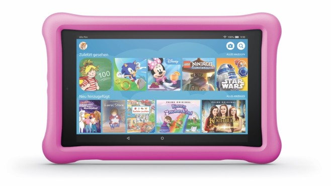 Tablet Amazon Fire HD 8 Kids Edition © Amazon