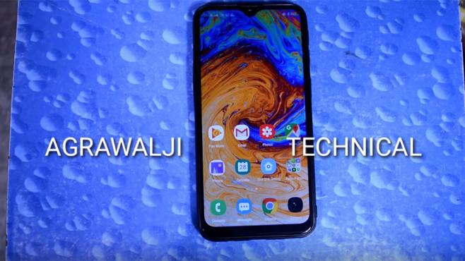 Angeblich das Samsung Galaxy M60©Youtube, Channel: Angry Agrawalji