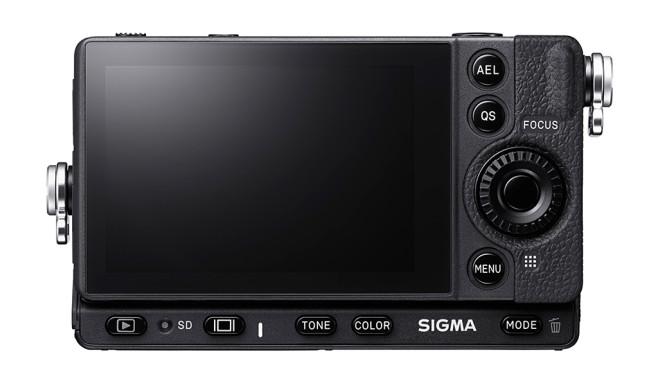 Sigma FP: Rückseite mit Display©Sigma