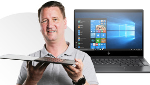 Laptop-Test: HP Envy 13 x360 2019 (13-ar0004ng) © COMPUTER BILD, HP