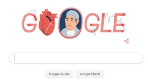 Google Doodle: René Favaloro©Google