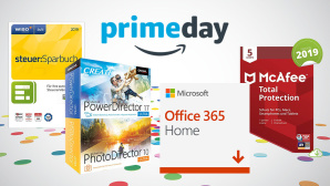 Software-Deals © Amazon, McAfee, CyberLink, Microsoft, WISO
