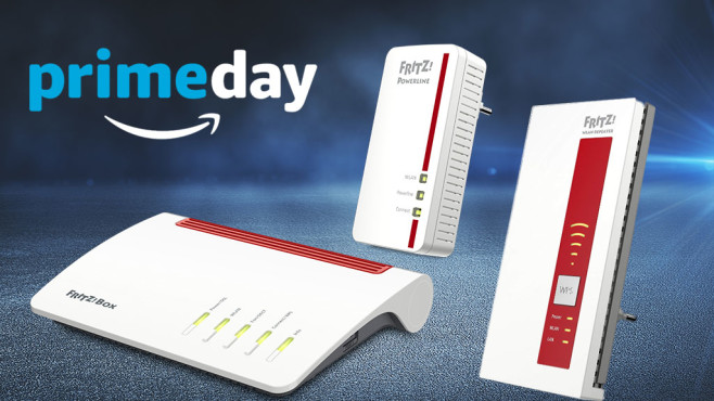 Amazon Prime Day: Fritzbox & Co. im Blitzangebot © Amazon, iStock.com/peshkov