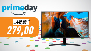 Amazon Prime Day: 32-Zoll Gaming-Monitor von Samsung © Amazon, iStock.com/ivanmollov