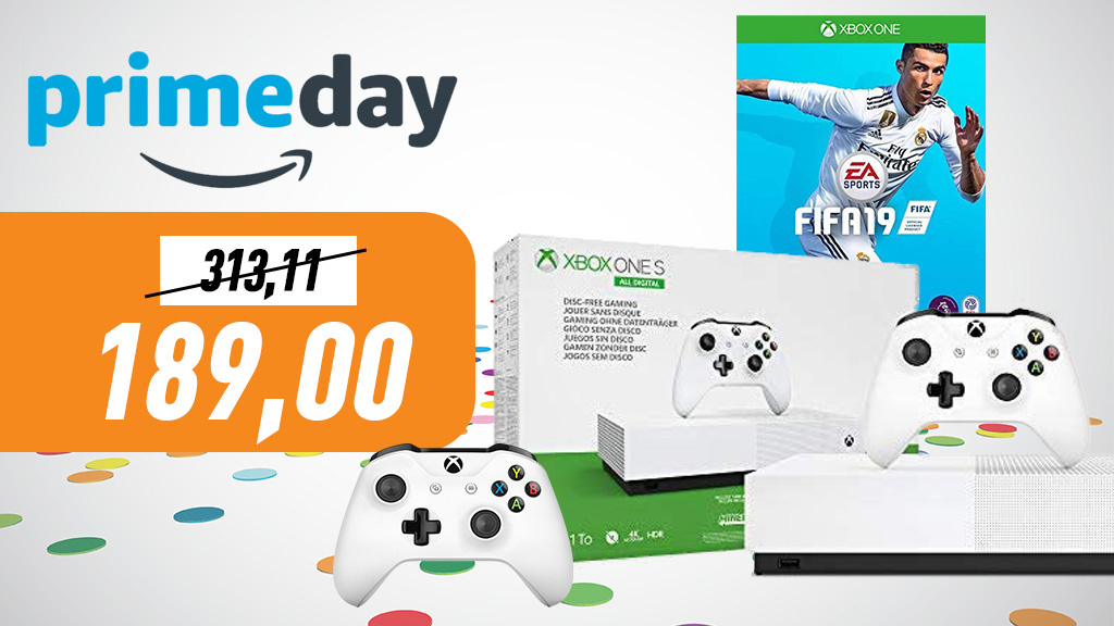 Prime Day: Xbox-One-S-Bundle, Games & Co. im Angebot
