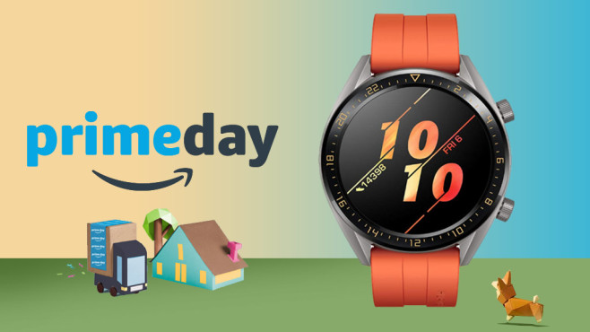 Amazon Prime Day 2019 Huawei Watch GT © Amazon, Huawei