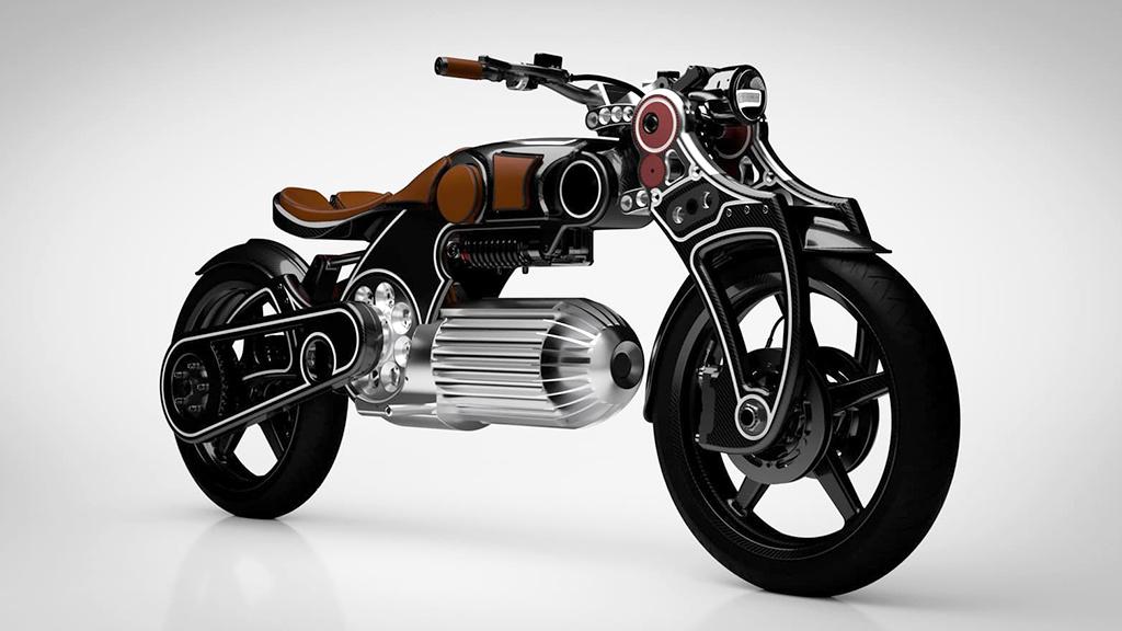 Curtiss Hades: Elektro-Motorrad mit verrücktem Design vorgestellt