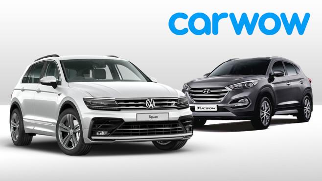 Kompakt-SUVs©Volkswagen, Hyundai, Carwow