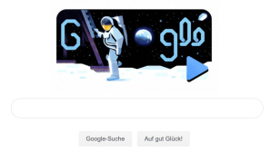Google Doodle: Apollo-11-Mission © Google