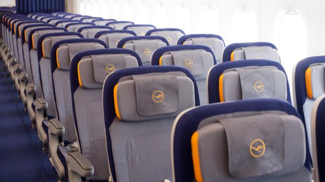 Lufthansa: Sitze©Lufthansa / Rolf Bewersdorf