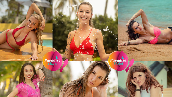 Paradise Hotel Teilnehmerinnen©RTL