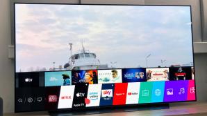 Apple-TV auf LG-Fernseher©COMPUTER BILD